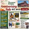 Cheshire Horse Anniversary Sale Flyer