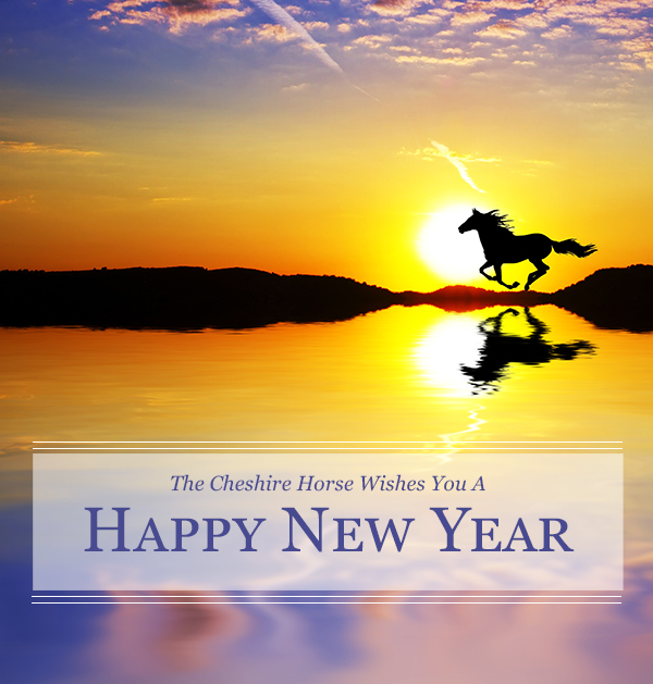 The Cheshire Horse wishes you a happy New Year