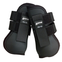 Roma Pro-Tec Pony Open Front Boots