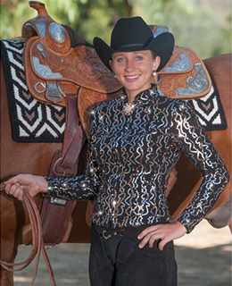 The Hobby Horse Talulla SwitchIt Jacket can be worn with or without optional SwitchIt collar and cuff sets, sold separately. This slenderizing Mandarin-collar jacket of black stretch lace topped with matte and shiny sequins shimmers with style!