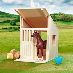 Breyer Hilltop Stable, $17.99