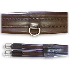 Stubben Select Overlay Leather Girth, $132.95