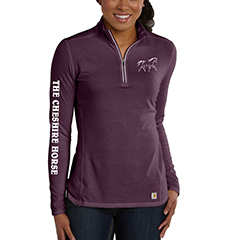 Cheshire Horse Quarter Zip, $33.95