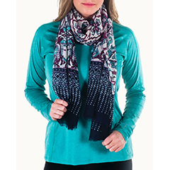 Noble Outfitters Printed Scarf - $19.95